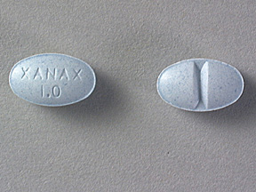 XANAX 1MG TABLETS