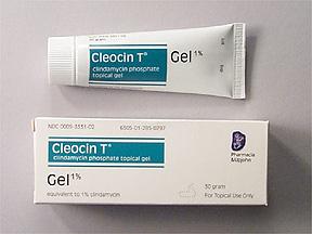 CLEOCIN T 1% GEL 30GM