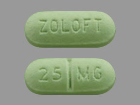 ZOLOFT 25MG TABLETS