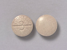 COUMADIN 3MG TABLETS (TAN)