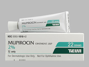 Mupirocin; Pseudomonic Acid