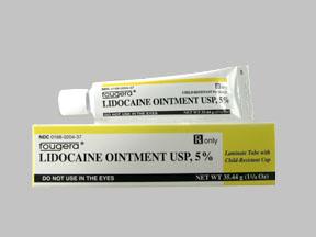 LIDOCAINE 5% OINTMENT 35.44GM