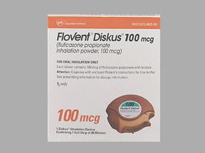 FLOVENT100MCG DISKUS (60 ORAL INH)