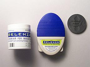 RELENZA DISKHALER 5MG/INH (20 INH)