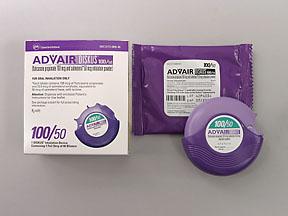 ADVAIR DISKUS 100/50MCG (GREEN)60'S