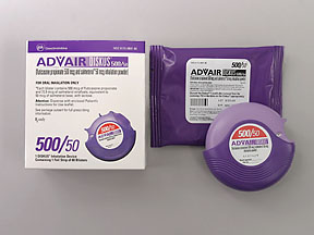 Advair Diskus 500 50mcg Red 60 S Drug Details Pharmacy Walgreens