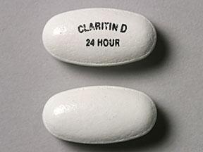 CLARITIN-D 24HR TABLETS 10'S