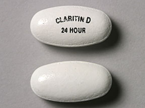 CLARITIN-D 24HR TABLETS 5'S