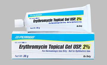ERYTHROMYCIN 2% GEL 30GM
