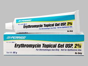 ERYTHROMYCIN 2% GEL 60GM