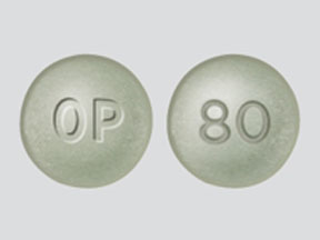 OXYCONTIN 80MG CONTROLLED REL TABS
