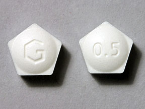 ALPRAZOLAM XR 0.5MG TABLETS