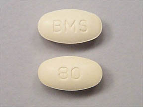 PRAVACHOL 80MG TABLETS