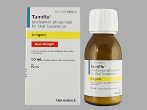TAMIFLU 6MG/ML SUSPENSION