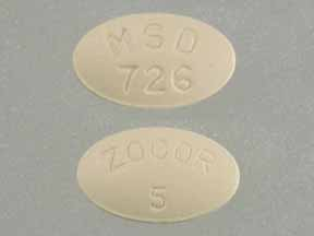 ZOCOR 5MG TABLETS