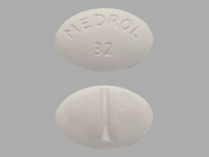 MEDROL 32MG TABLETS