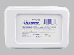 RESTASIS 0.05% OPHTH EMULSION 30'S