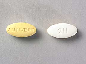 ANTIVERT 25MG TABLETS