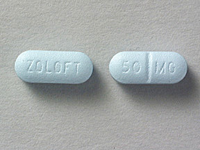 ZOLOFT 50MG TABLETS