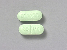ZOLOFT 25MG TABLETS