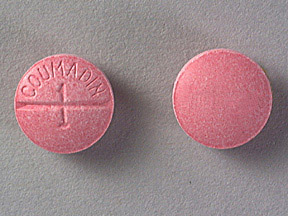 COUMADIN 1MG TABLETS (PINK)