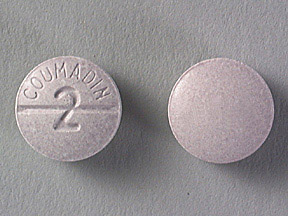 COUMADIN 2MG TABLETS (PURPLE)
