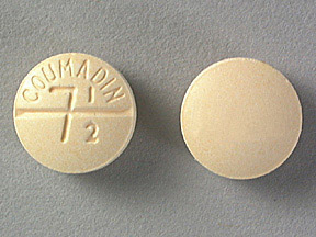 COUMADIN 7.5MG TABLETS (YELLOW)