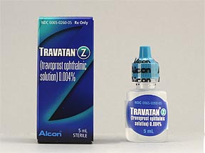 TRAVATAN Z 0.004% OPHTH SOLN 5ML