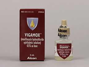 VIGAMOX 0.5% OPHTH SOLUTION 3ML