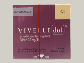 VIVELLE-DOT 0.1MG PATCH