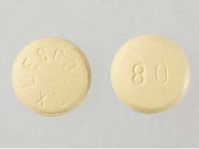 LESCOL XL 80MG TABLETS