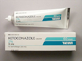 KETOCONAZOLE 2% CREAM 60GM