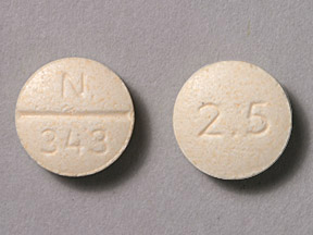 GLYBURIDE 2.5MG TABLETS