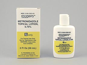 METRONIDAZOLE 0.75% TOPICAL LOTION