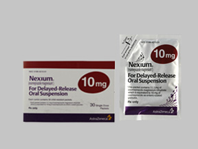 NEXIUM 10MG DR POW PACKS FOR SUSP