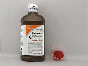 Hydromet Hydrocod Homa 5 1 5mg Syr Drug Information Pharmacy