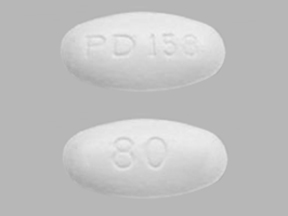 ATORVASTATIN 80MG TABLETS