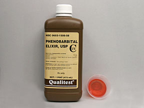 PHENOBARBITAL ELIXIR 20MG/5ML
