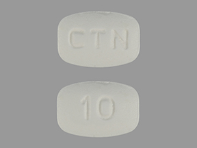 CETIRIZINE 10MG TABLETS