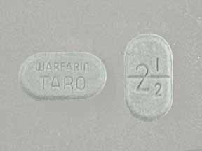 WARFARIN SOD 2.5MG TABLETS (GREEN)