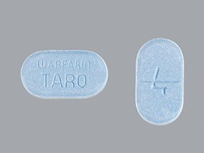 WARFARIN SOD 4MG TABLETS (BLUE)