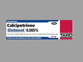 CALCIPOTRIENE 0.005% OINTMENT 120GM