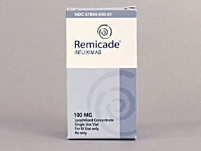 REMICADE 100MG INJ VIAL